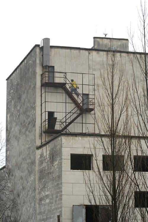 Графити в Припяти