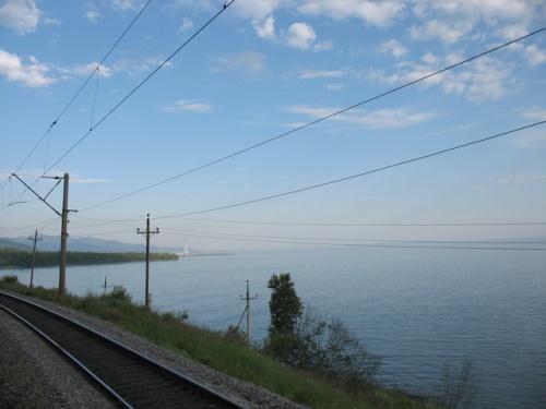 Байкал. Вид из окна поезда