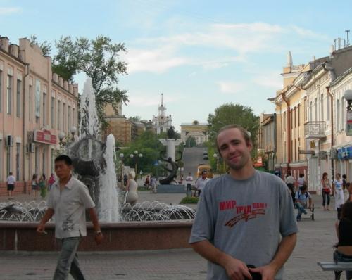Улица Ленина - улан-удэнский Арбат