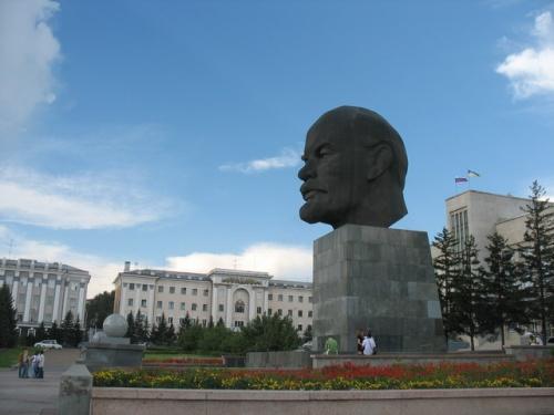 Голова Ленина. Улан-Удэ