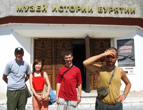 Около Музея истории Бурятии. Улан-Удэ