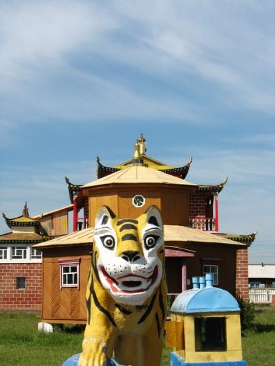 Другой страж Дацана - Тигр