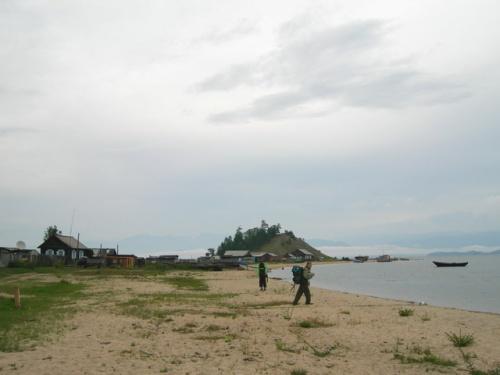 Деревня Катунь. Наше первое тихое пристанище на Байкале.