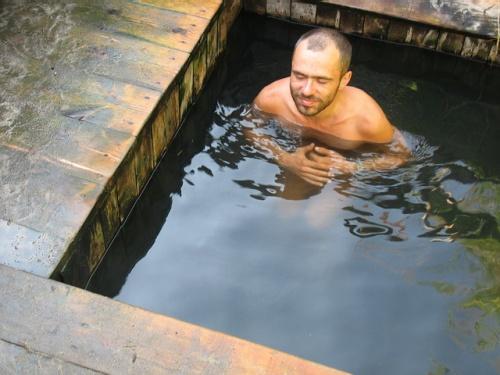 Балдеж в горячей ванне