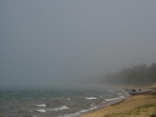 Туман в Змеиной