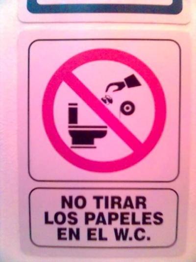 Это как второе фото-только на испанский.