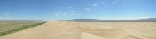 Панорама дюн.