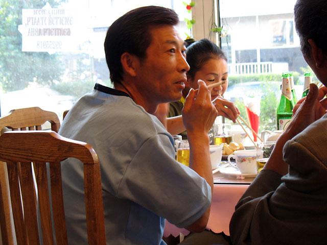 Улан-Батор. В китайском ресторане