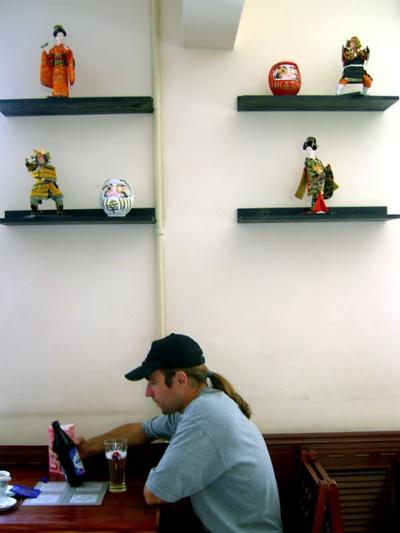 Уланбатор. В японском кафе