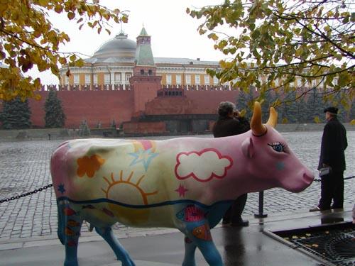 Корова Мечта (розовая)