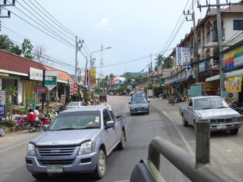 Улица посёлка Ламай