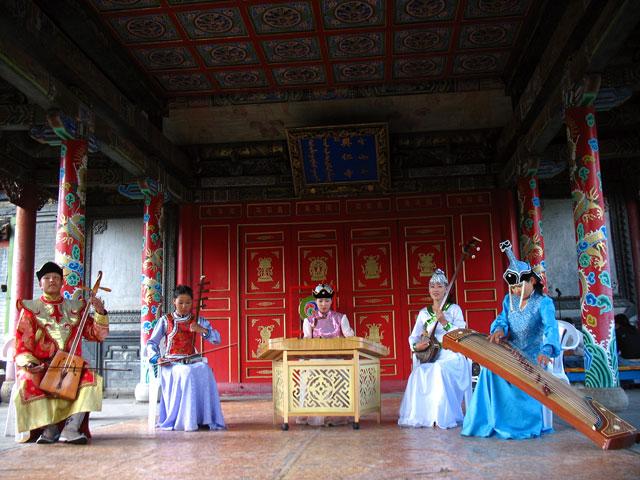 Ансамбль монгольской музыки
