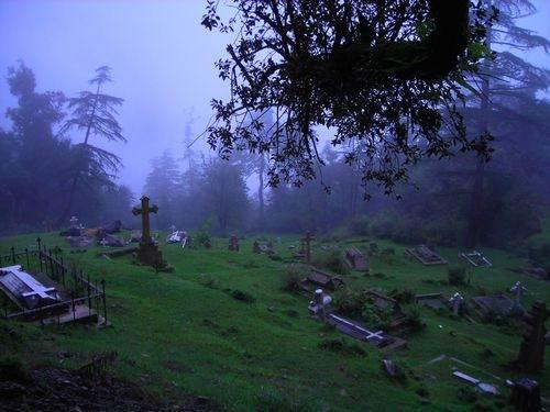 Шотландия по-Индийски. Кладбище в окрестностях Маклеода