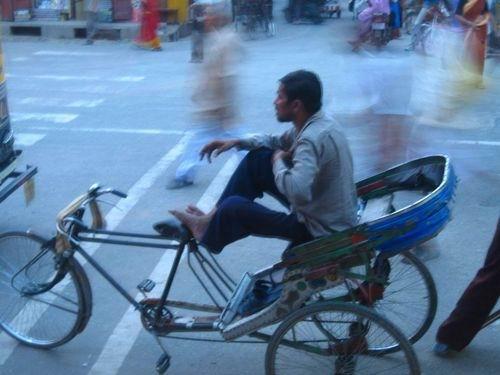 Велорикша из Харидвара