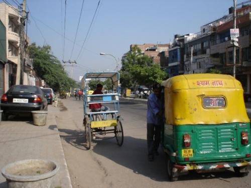 Улица в Delhi
