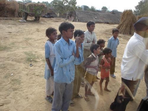 Детишки в деревне