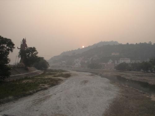 Закат в Харидваре