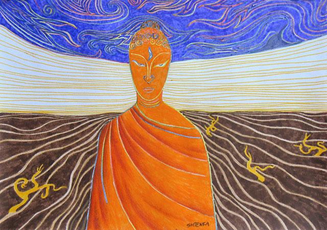 Будда пустыни