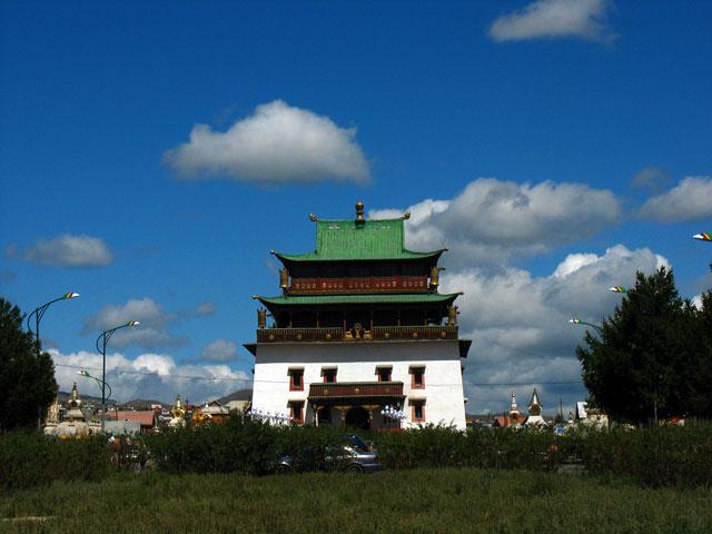 В монастыре Гандан. Улан-Батор
