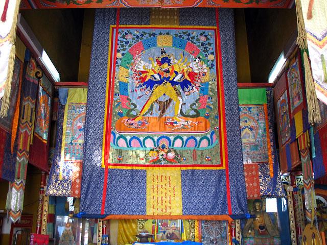 Школа буддистской философии. Монастырь Гандан