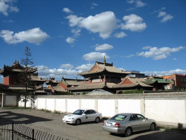 Монголия: Города