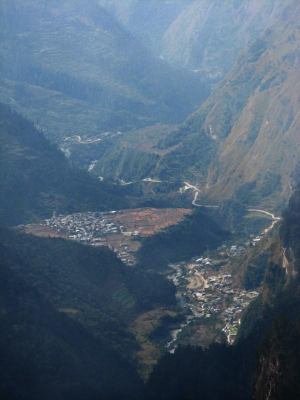 Вид на долину (Джанки Чатти)