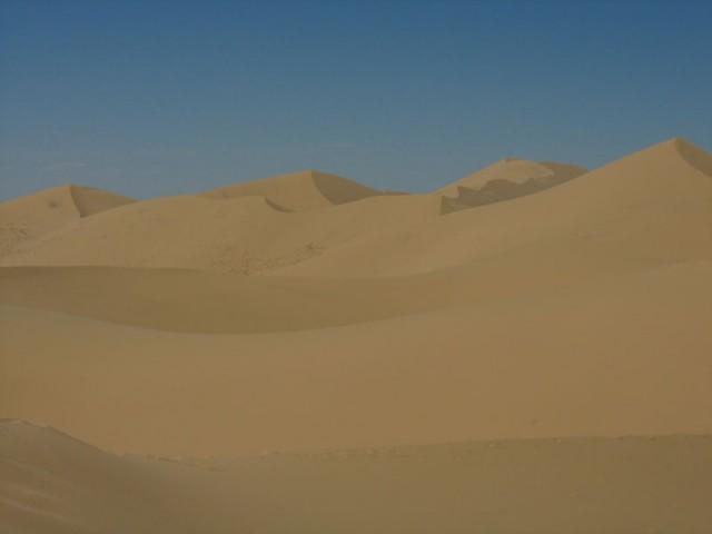 Пески пустыни Гоби