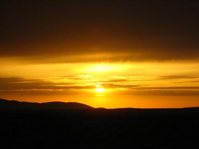 Закат над Гоби - мы вернемся!