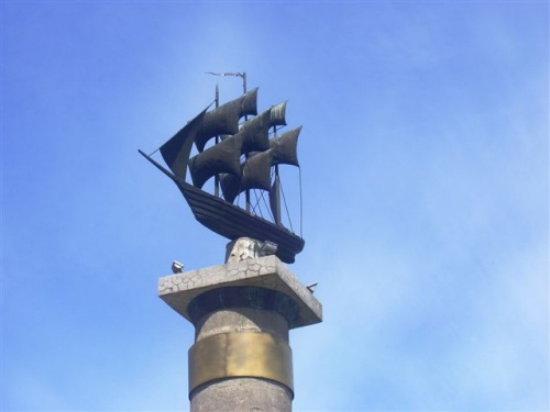 кораблик -символ города
