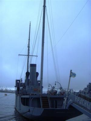 маленький ваоенный кораблик