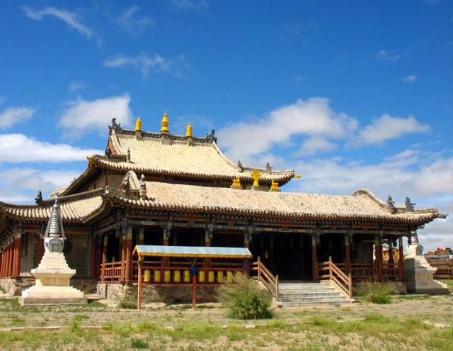 Монголия. Монастырь Гимпил Даржаалан Хийд