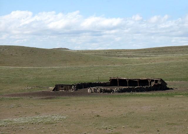 Монголия. По-видимому, зимник для скота