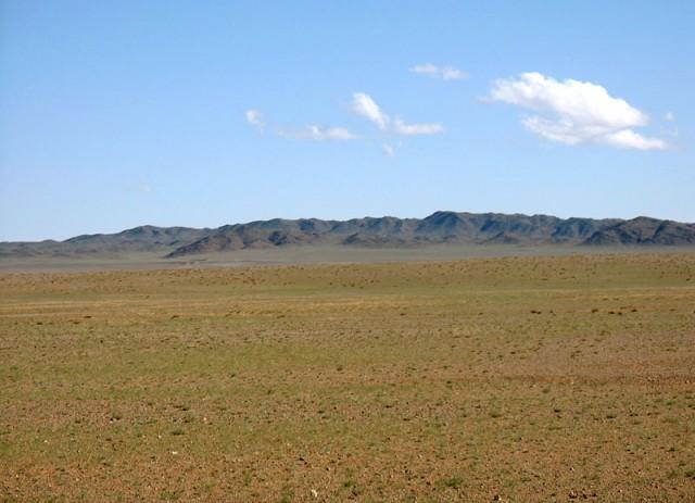 Монголия. Пустыня Гоби: простенько, но со вкусом