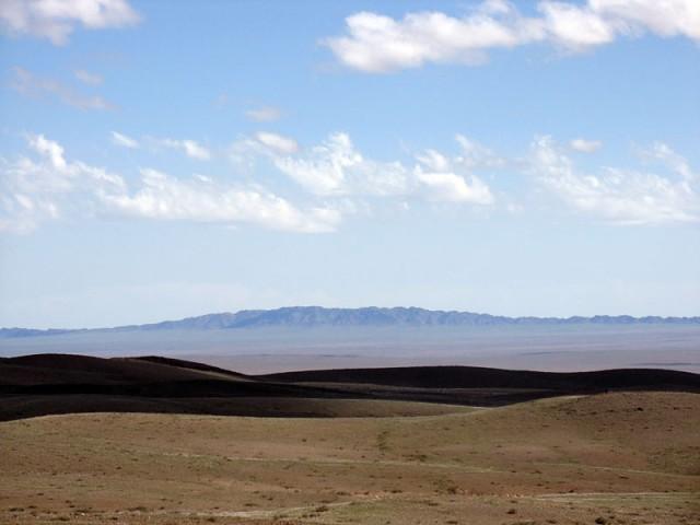 Пустыня Гоби. Цвета и линии