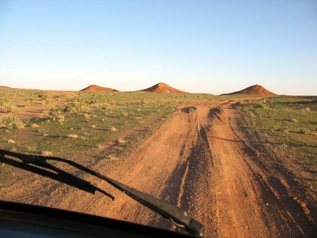 Дорога в Баянзаг