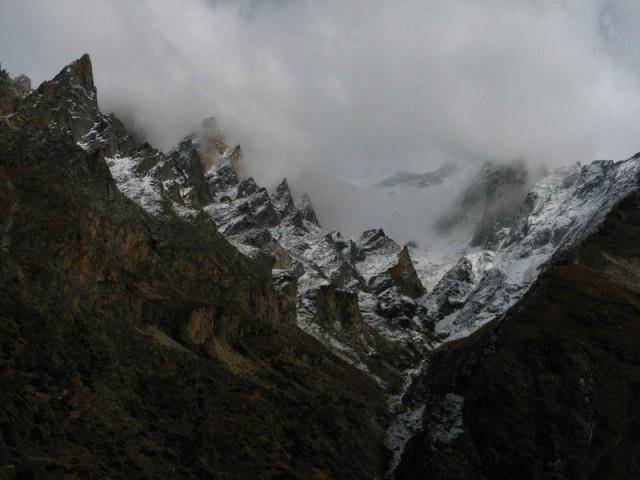 Горы туманные