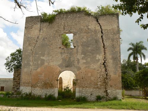 Мертвая церковь-такие часто встречаються в деревни здесь.
