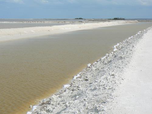 Соль добывают от эти каналы.