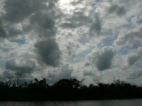 В конец плавания погода испортилась.
