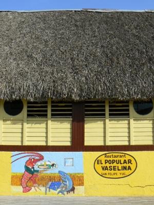 И решили обедать в этот ресторан. Потом поняли, что Вазелин-это кличка собственика ресторана.
