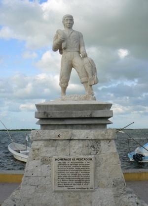 Монумент рыбака.
