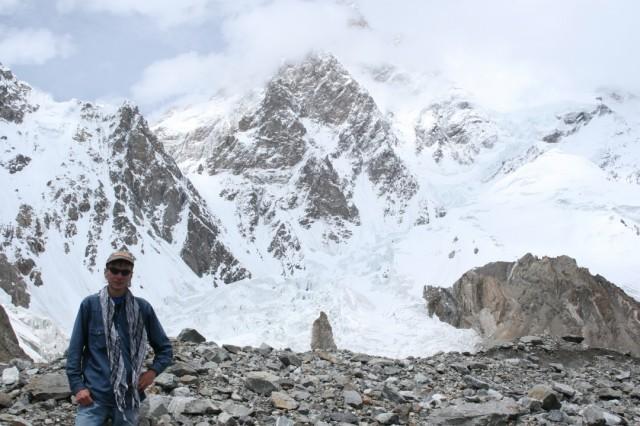 У подножия второй высочайшей вершины мира -  К2.