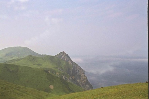Сопки и тумано-облака