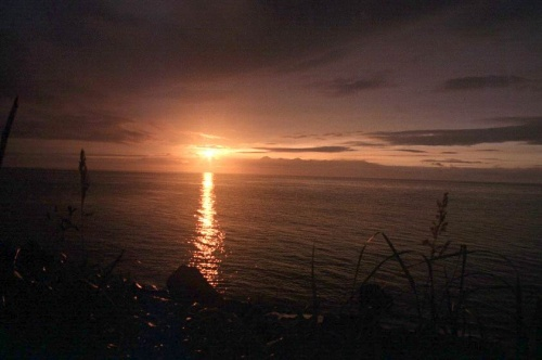 Закат над Японией