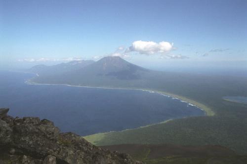 Вид с кратера на Стокап