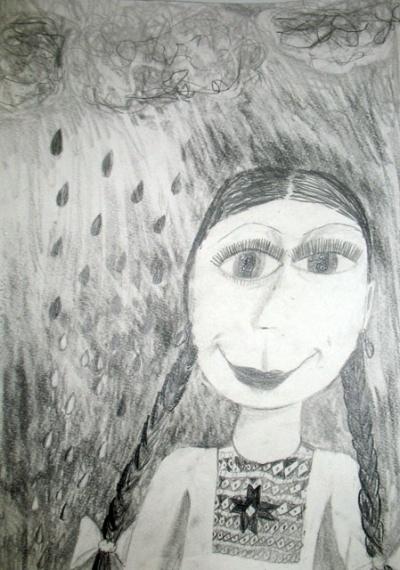 Красавица Зора - дождь