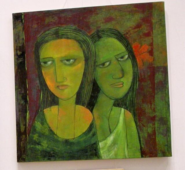 Бомбей.Выставка современного индийского искусства