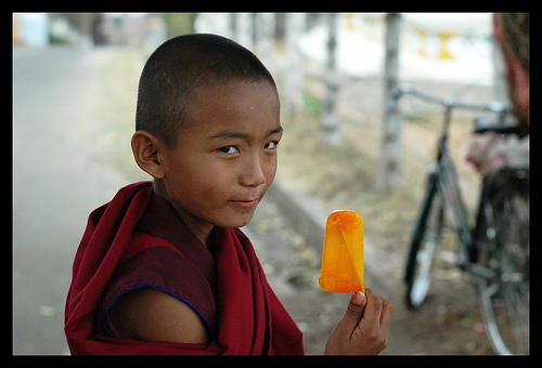 Orange Ice Candy
