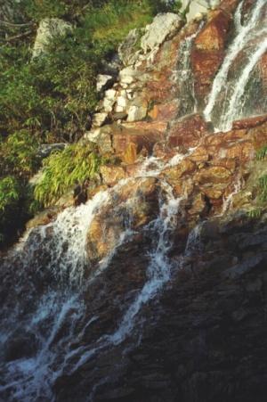 деталь водопада