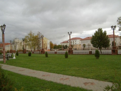Центр Полоцка